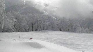 立山山麓スキー場(山頂から南側)ライブカメラと雨雲レーダー/富山県富山市