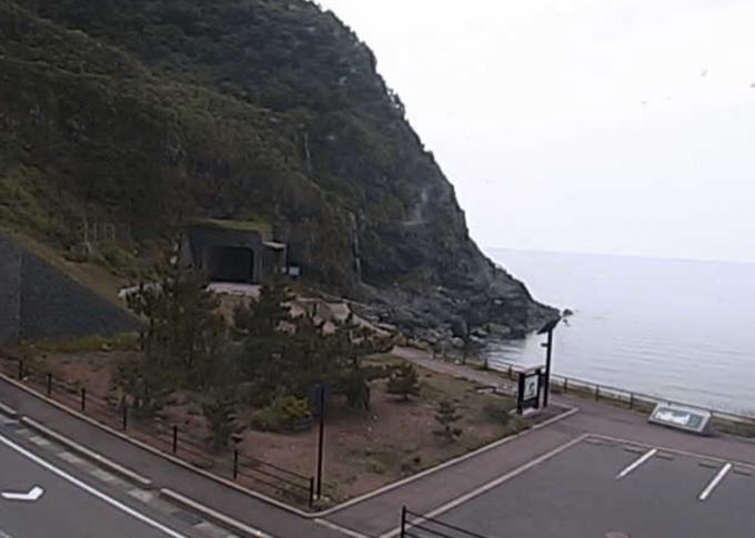 垂水の滝ライブカメラと気象レーダー/石川県珠洲市