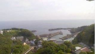 伊佐漁港(足摺岬周辺)ライブカメラと雨雲レーダー/高知県土佐清水市