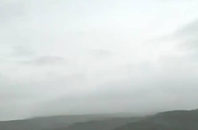 新燃岳ライブカメラ(MBC南日本放送)と雨雲レーダー/宮崎県小林市