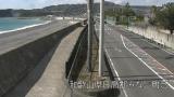 国道42号ライブカメラと気象レーダー/和歌山県