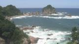城原海岸ライブカメラと雨雲レーダー/鳥取県岩美町
