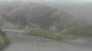 庄川峡ダム湖ライブカメラと雨雲レーダー/富山県南砺市