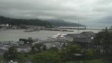 赤泊港ライブカメラと雨雲レーダー/新潟県佐渡島