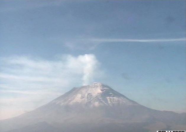 ポポカテペトル山ライブカメラ/メキシコ ブエブラ