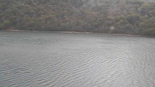桂湖ライブカメラと気象レーダー/富山県南砺市