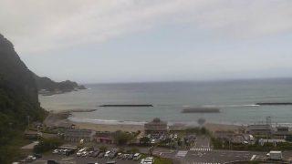 クリスタルビーチライブカメラと雨雲レーダー/静岡県西伊豆町