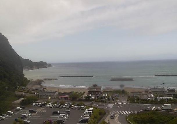 クリスタルビーチライブカメラと気象レーダー/静岡県西伊豆町