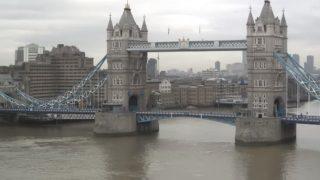 ロンドン Tower Bridge(タワーブリッジ)ライブカメラ/イギリス