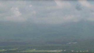 鳥海山と日本海と街並みライブカメラ(6ヶ所)と気象レーダー/山形県遊佐町