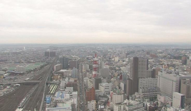 各街ライブカメラ(5ヶ所)と雨雲レーダー/福島県