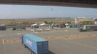 博多湾のコンテナターミナルライブカメラ(2ヶ所)と雨雲レーダー/福岡県福岡市