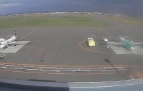 丘珠空港ライブカメラと雨雲レーダー/北海道札幌市