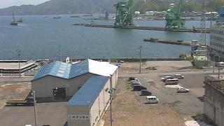 釜石港や釜石市の復興 ライブカメラと気象レーダー/岩手県釜石市