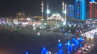 モスク「チェチェンのハート」ライブカメラ/ロシア