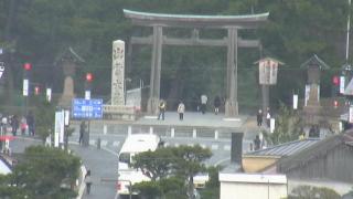 出雲大社(神門通り)ライブカメラと雨雲レーダー/島根県出雲市