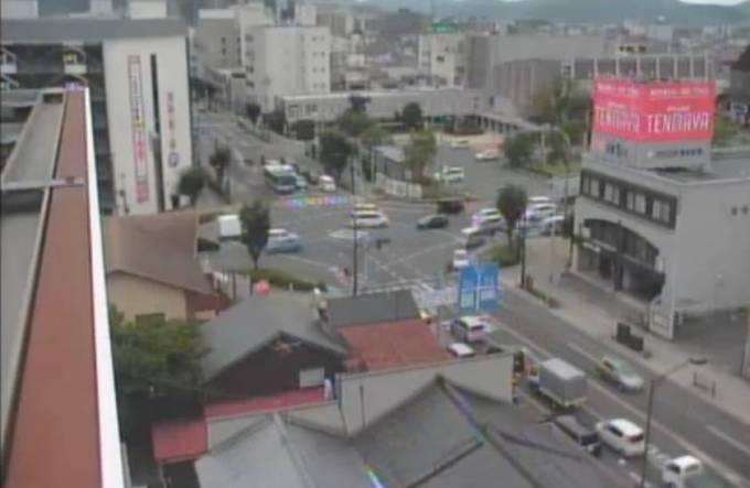 国道9号・公会堂前交差点ライブカメラと雨雲レーダー/鳥取県米子市