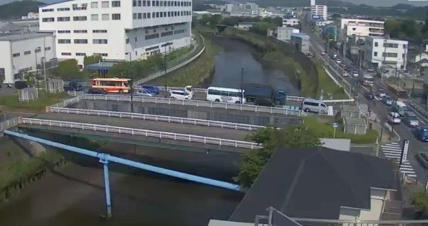 柏尾川(名東橋付近)ライブカメラと雨雲レーダー/神奈川県藤沢市