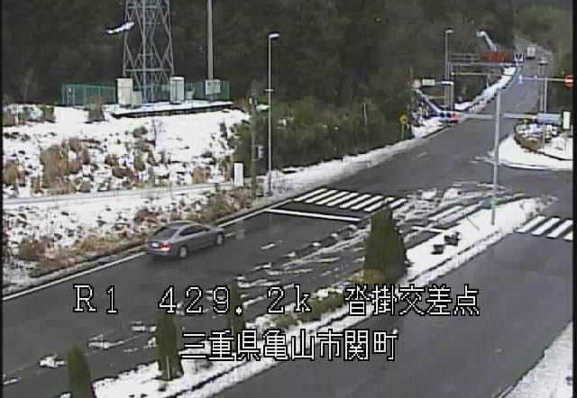 国道1号(鈴鹿峠)ライブカメラ(28ヶ所)と雨雲レーダー/三重県
