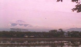 東山湖から見える富士山ライブカメラと雨雲レーダー/静岡県御殿場市