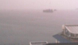七尾湾ライブカメラと雨雲レーダー/石川県七尾市