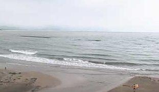浜詰ビーチライブカメラと雨雲レーダー/京都府京丹後市