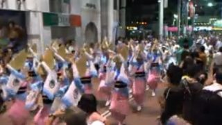 2014阿波踊りライブカメラと雨雲レーダー/徳島県徳島市