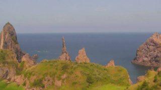 国賀海岸ライブカメラと雨雲レーダー/島根県西ノ島町