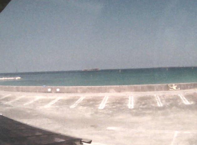 停止中:土井ヶ浜 南 海の家ライブカメラと雨雲レーダー/山口県下関市