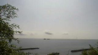 停止中:灘浦海岸ライブカメラと雨雲レーダー/富山県氷見市