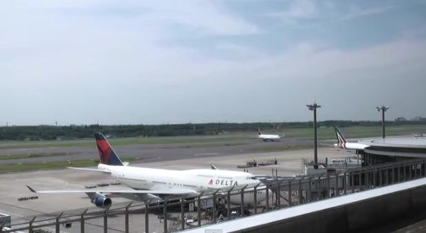 停止中:成田空港 ライブカメラと雨雲レーダー/千葉県成田市