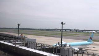 成田空港ライブカメラ(南方向)[USTREAM]と雨雲レーダー/千葉県成田市