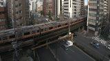 JR中央線と靖国通りライブカメラと雨雲レーダー/東京都千代田