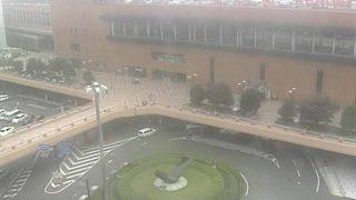 停止中:JR仙台駅前ライブカメラと雨雲レーダー/宮城県仙台市