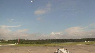 熊本空港ライブカメラ(阿蘇くまもと空港)[JAL-天気情報]と雨雲レーダー/熊本県上益城郡