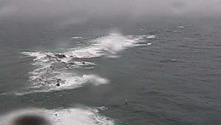 豆酘埼灯台からの映像ライブカメラと雨雲レーダー/長崎県対馬市