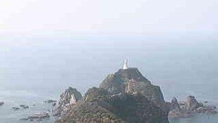 佐多岬灯台から見えるライブカメラと気象レーダー/鹿児島県大隅半島