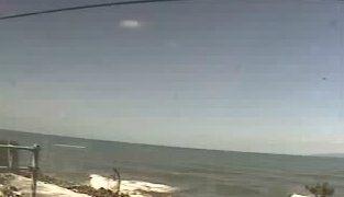 笹川流れ夕日会館付近の海ライブカメラと気象レーダー/新潟県村上市