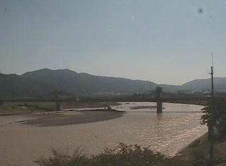 桂川の見える亀岡市ライブカメラと雨雲レーダー/京都府