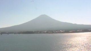 停止中:温泉宿『秀峰閣湖月』から見える富士山ライブカメラと雨雲レーダー/山梨県富士河口湖町