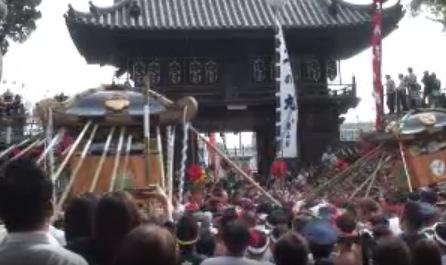 灘のけんか祭りライブカメラと気象レーダー/兵庫県姫路市