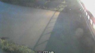 馬込川 半田橋ライブカメラと気象レーダー/静岡県浜松市