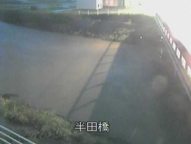 馬込川 半田橋ライブカメラと雨雲レーダー/静岡県浜松市