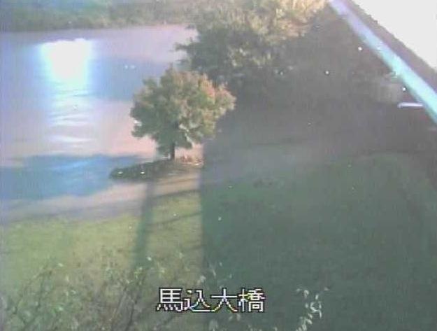 馬込川・馬込大橋周辺ライブカメラと雨雲レーダー/静岡県浜松市