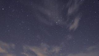 ふたご座流星群ライブカメラ(星空)