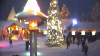 本場のクリスマス!サンタクロース村ライブカメラ/フィンランド