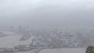 高知市内や鏡川ライブカメラと雨雲レーダー/高知県