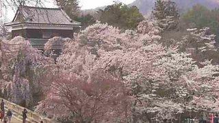 上田城跡公園ライブカメラ2と雨雲レーダー/長野県上田市
