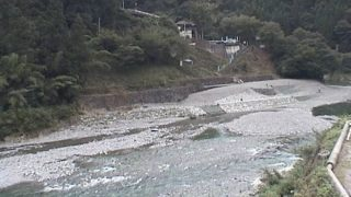 穴吹川・二又の瀬ライブカメラと雨雲レーダー/徳島県美馬市