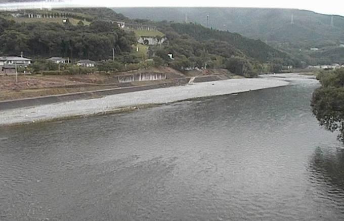 穴吹川・ふれあい広場ライブカメラと雨雲レーダー/徳島県美馬市